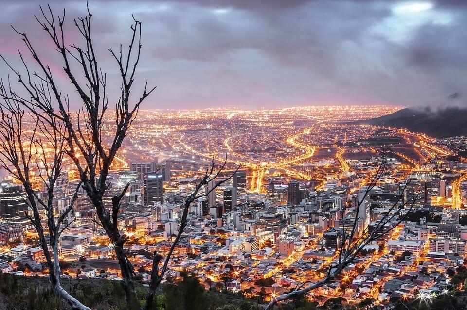 south africa skyline